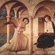 Fra Angelico: The Annunciation, San Marcos, Florence